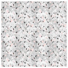 Flamingo Wallpaper in Pink by 17 Patterns