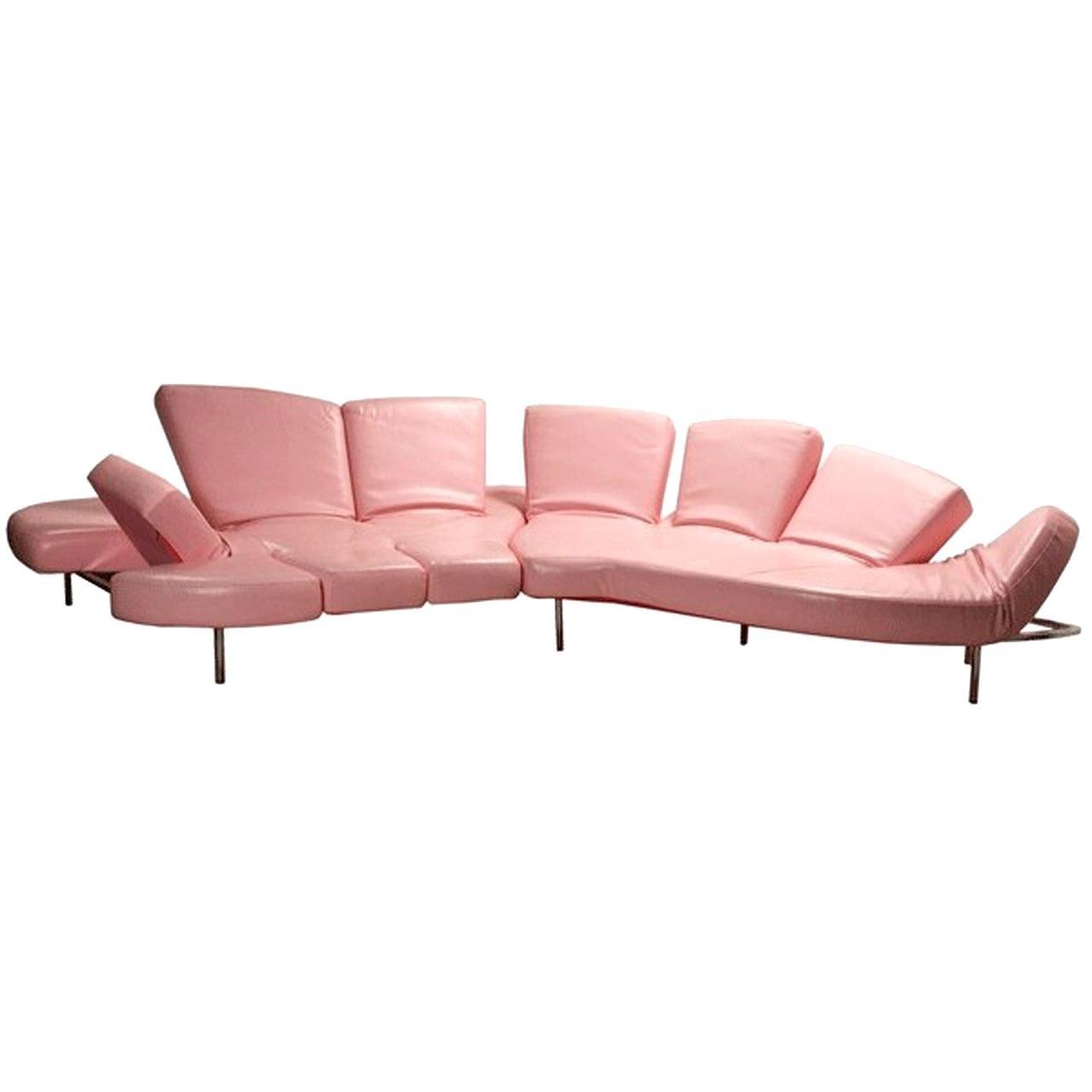 """Flap"" Sofa by Francesco Binfare for Edra, Italy"