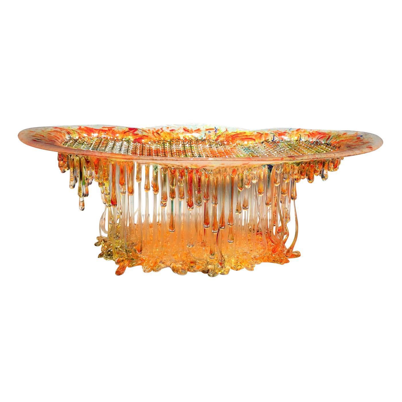 Flash 3 Murano Glass Sculpture