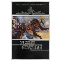 Flash Gordon 1980 U.S. One Sheet Film Poster
