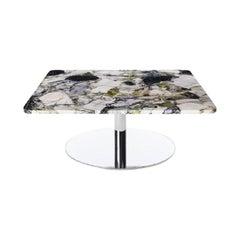 Flash Primavera Square Table Chrome