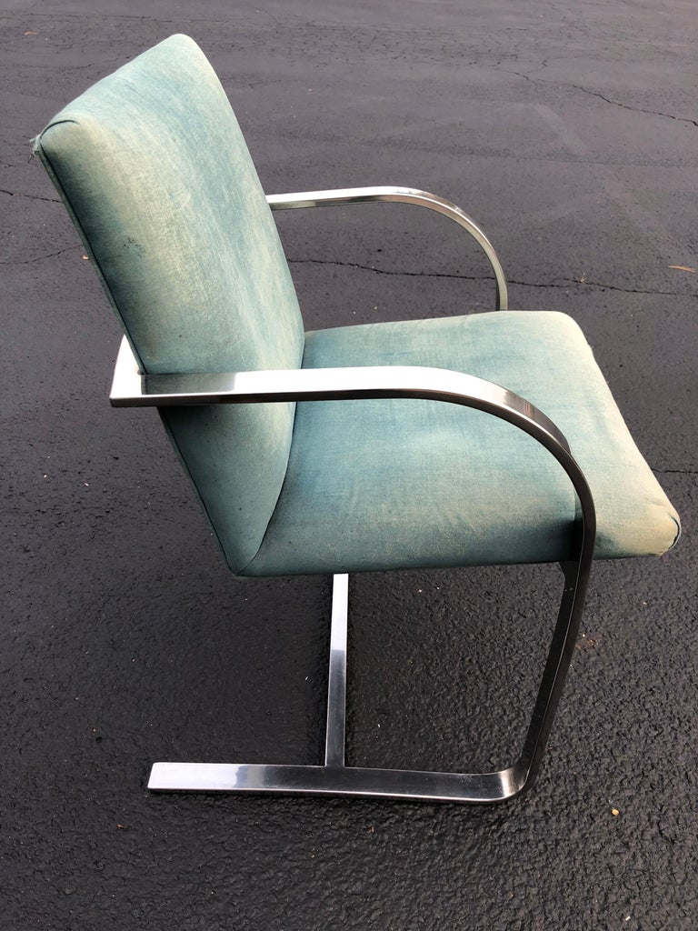 Flat Bar Brno Style Chair For Sale 6
