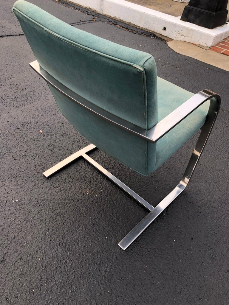 Flat Bar Brno Style Chair For Sale 9