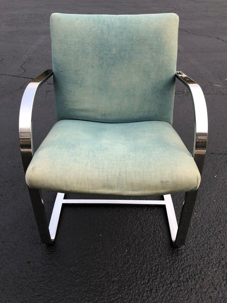 Flat Bar Brno Style Chair For Sale 2