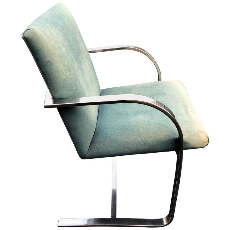 Flat Bar Brno Style Chair For Sale