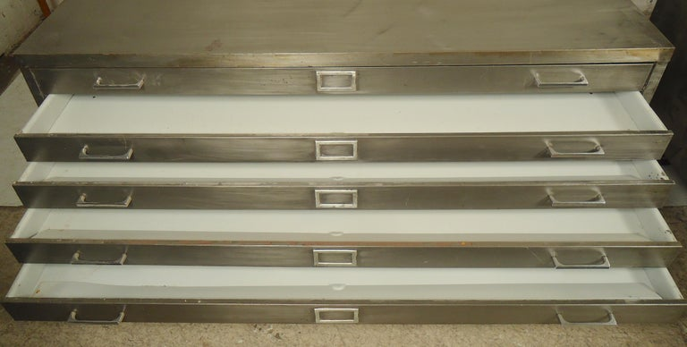Flat File Coffee Table For Sale 1