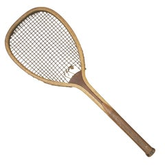 Flat Top Lawn Tennis Racket