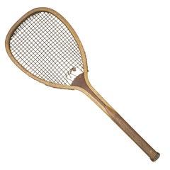 Flat Top Lawn Tennis Racket