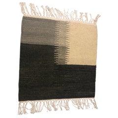 Flat Weave Modern Design Dhurrie Rug Sampler