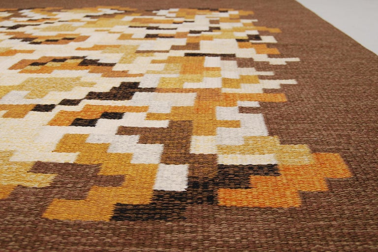 Swedish Flat-Weave Rölakan Carpet