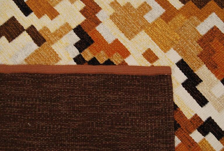 20th Century Flat-Weave Rölakan Carpet