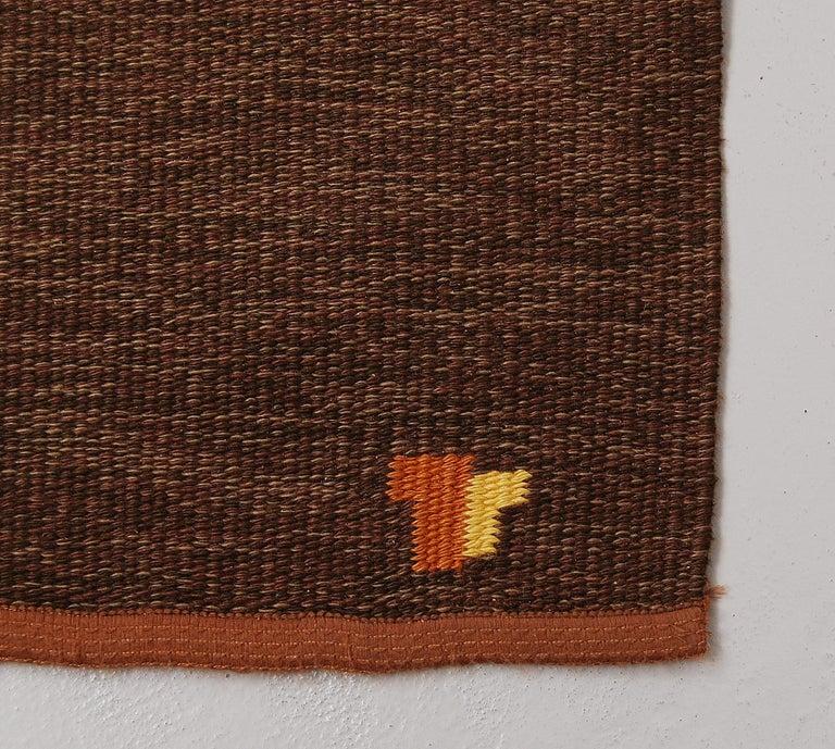 Wool Flat-Weave Rölakan Carpet