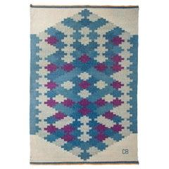 Flatweave Carpet Produced in Sweden