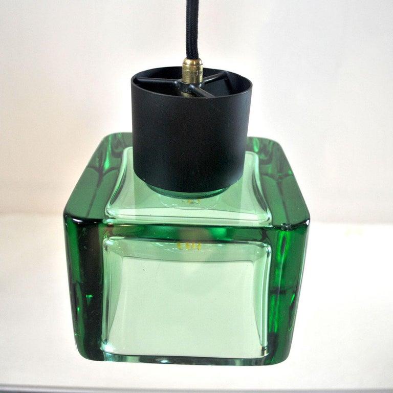 Flavio Poli for Seguso a 1960s Suspension of Three Murano Elements For Sale 11