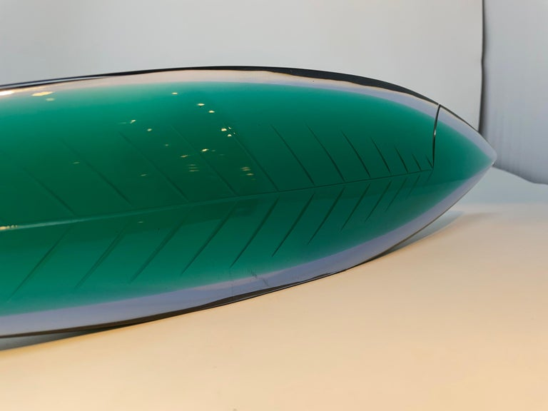 Glass Flavio Poli for Seguso Vetri D'Arte, circa 1954
