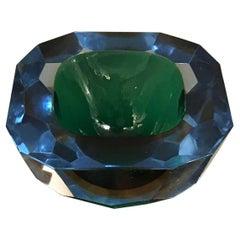 Flavio Poli Pocket Emptier Murano Glass, 1950, Italy