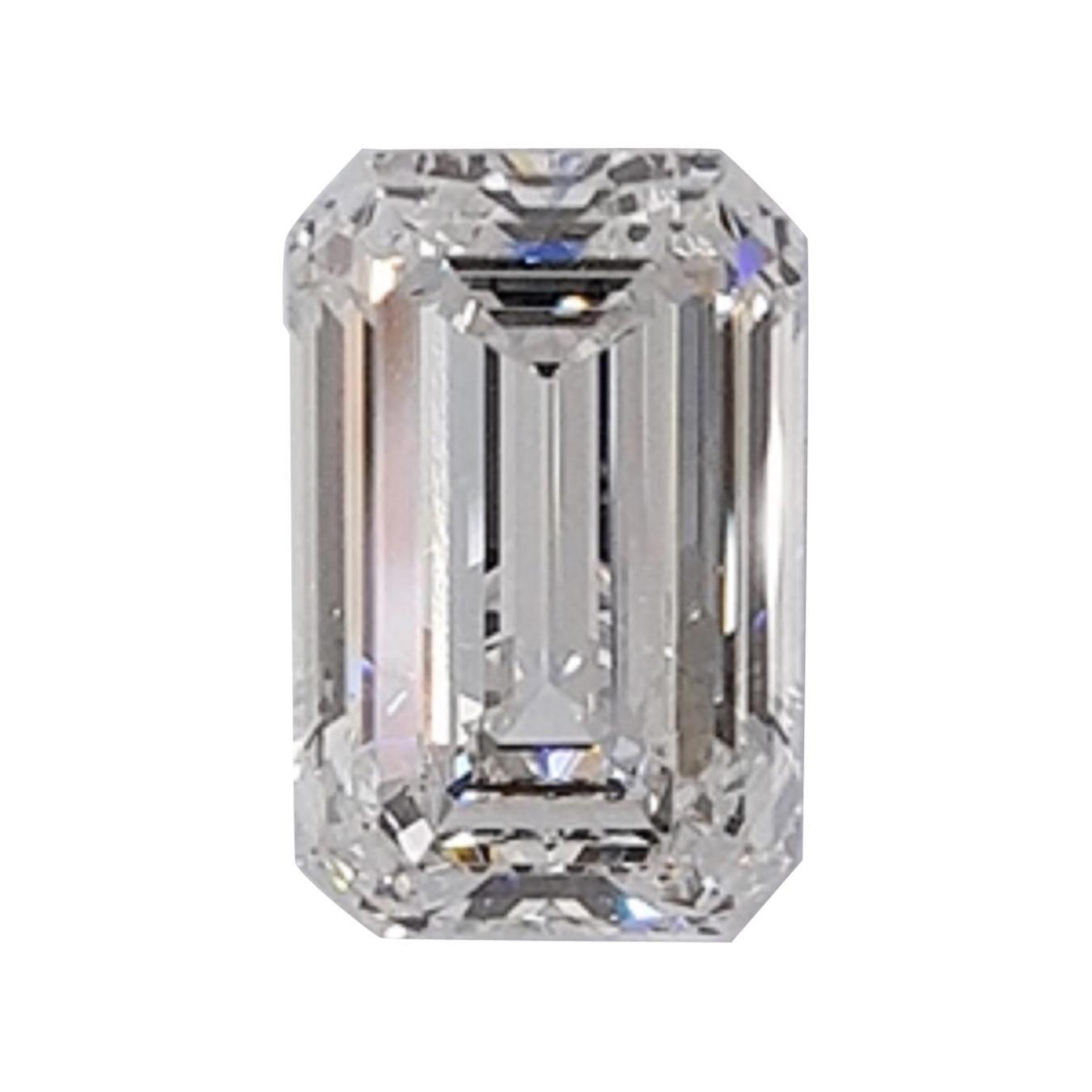 GIA Certified 10 Carat Emerald Cut Diamond Perfect Proportion VVS1 Clarity