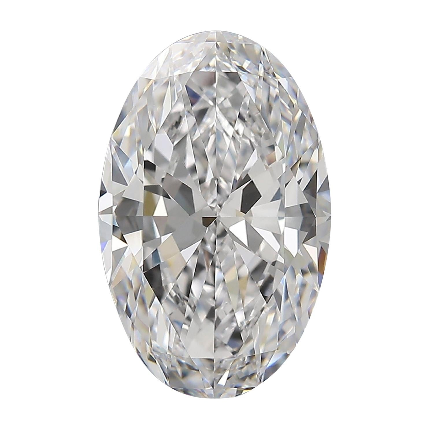 Flawless D Color GIA Certified 6 Carat Oval Diamond