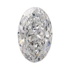 Flawless GIA Certified 5 Carat Oval Diamond