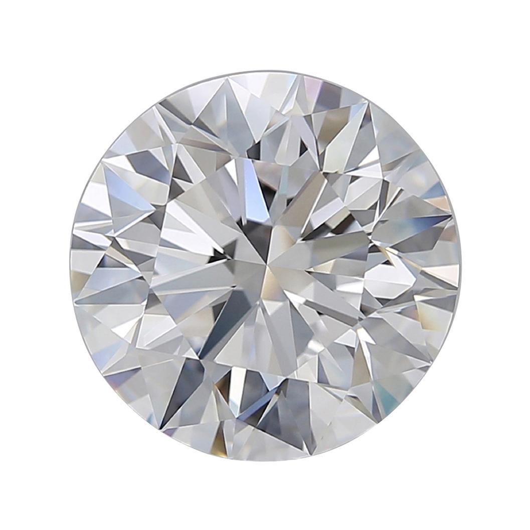 Flawless GIA Certified 7.21 Carat Round Brilliant Cut Diamond