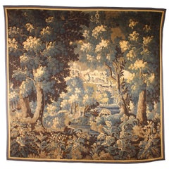 Flemish 17 Century Tapestry from Audenarde