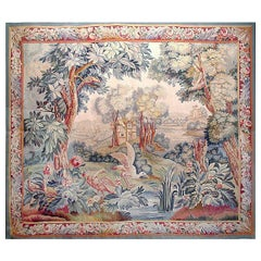 Flemish 19th Century Tapestry, 6'2 x 5'3