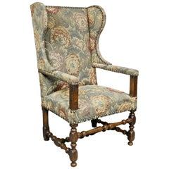 Flemish Baroque Walnut Armchair