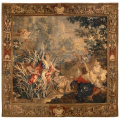 Flemish Mythological Tapestry, circa 1700, 10' x 11'