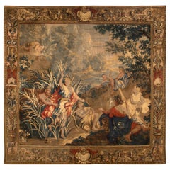 Flemish Mythological Tapestry, circa 1700  10' x 11'