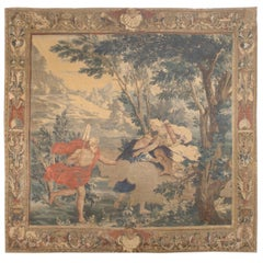 Flemish Mythological Tapestry, circa 1700  11' x 10'