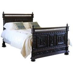 Flemish Oak Bed