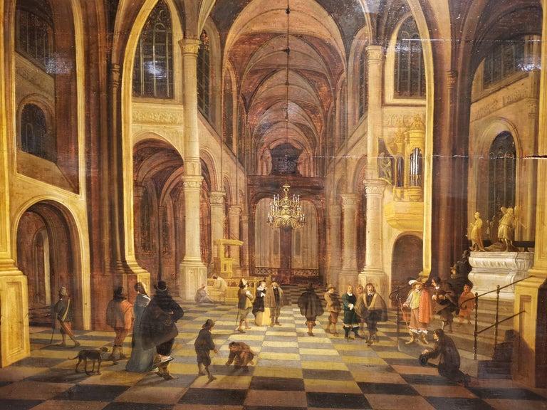 Oiled Flemish School 17th Century