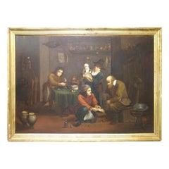 "Flemish School 19th Century "" Medical Theme"""