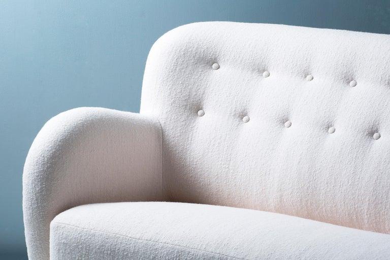 Scandinavian Modern Flemming Lassen Attributed Sofa, circa 1940s For Sale