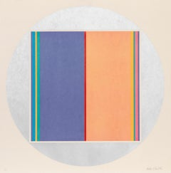 Geometric Abstract Screenprint by Fletcher Benton