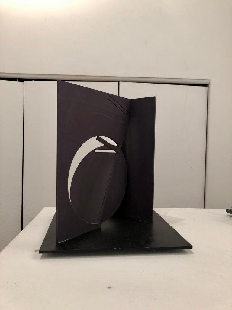 Fletcher Benton, Folded Square Alphabet F (ed 3 of 3), 2006, painted steel For Sale 1