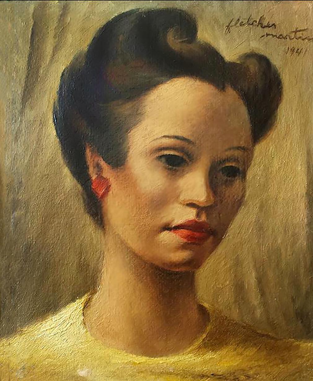 Portrait of a Black Woman, Maxine