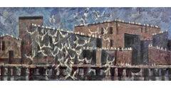 Quarrelling Gulls - Flock of Birds