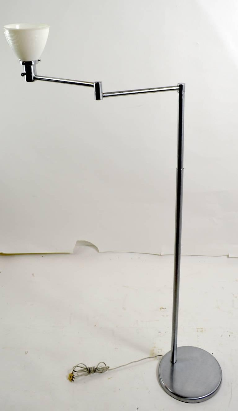 20th Century Flex Arm Floor Lamp by Walter Von Nessen For Sale