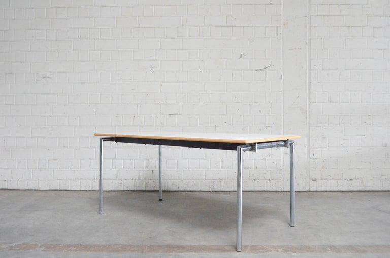 Flex Office Folding Table Søren Nielsen & Thore Lassen Für Randers Danish Modern For Sale 5