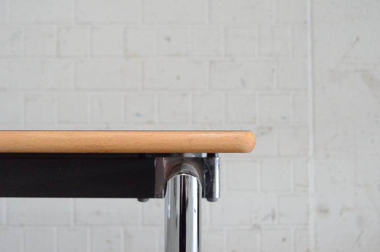 Late 20th Century Flex Office Folding Table Søren Nielsen & Thore Lassen Für Randers Danish Modern For Sale