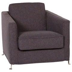 Flexform Fabric Armchair Gray Anthracite
