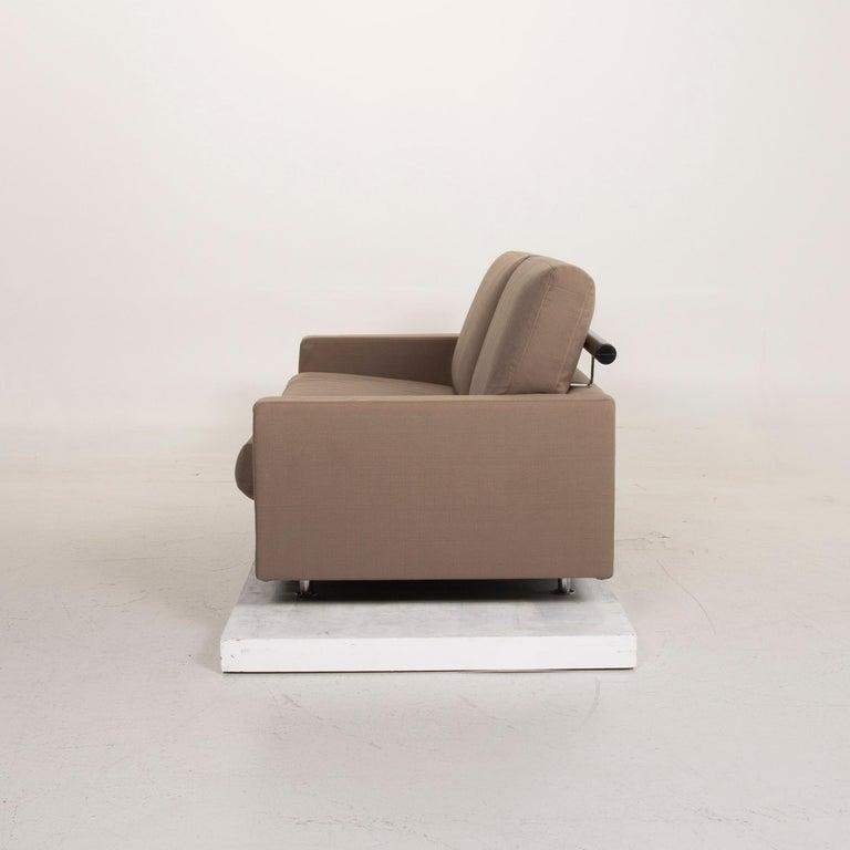 Flexform Fabric Sofa Beige Two-Seat For Sale 5