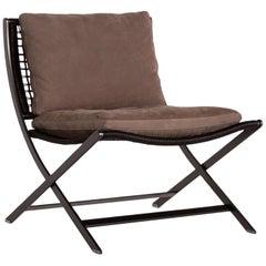 Flexform Peter Leather Armchair Brown Chair Antonio Citterio