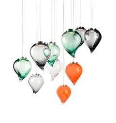 Flik Suspension lamp in Murano Glass by Karim Rashid (Euro)