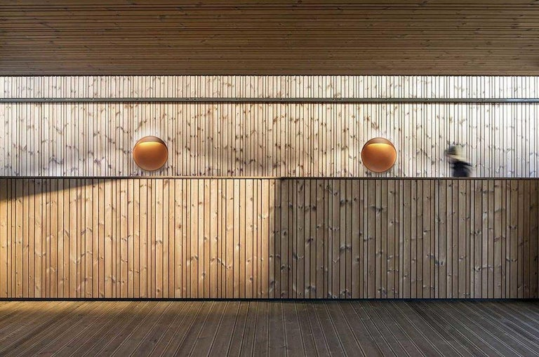 Danish 'Flindt' Indoor/Outdoor Wall Light for Louis Poulsen For Sale