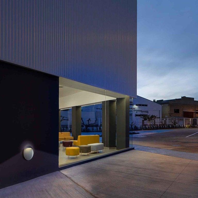 Aluminum 'Flindt' Indoor/Outdoor Wall Light for Louis Poulsen For Sale