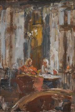 Hotel van der Werff, Lounge- 21st Century Contemporary Interior Painting