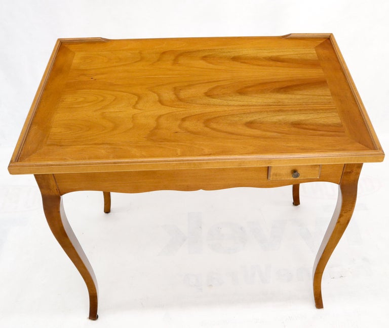 20th Century Flip Top Italian Chess Backgammon Game Table with Drawers For Sale