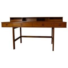 Flip-Top Partner Desk by Løvig Nielsen